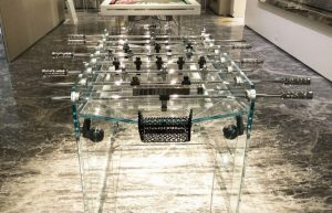 Ultra luxury Foosball and billiard tables