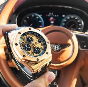Audemars Piguet ROYAL OAK OFFSHORE PINK GOLD BRICK
