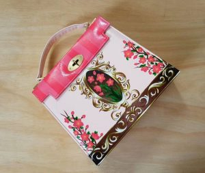Floral Hand painted luxury bag