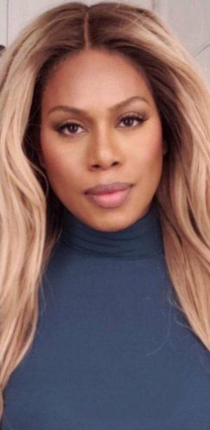 Laverne Cox inspired blonde wig