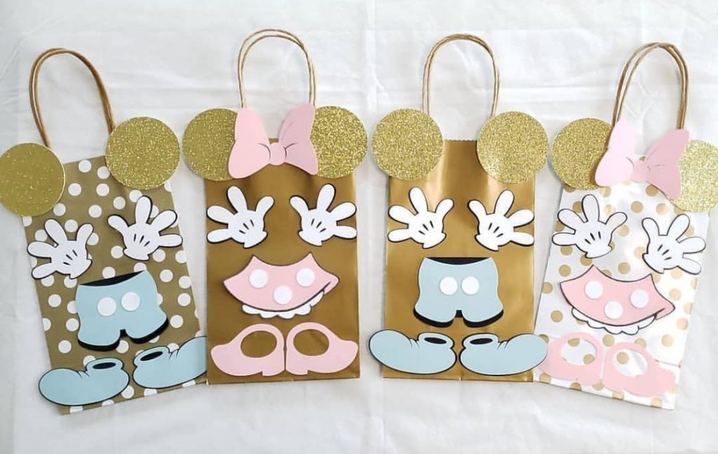 Mickey And Minnie Mouse Party Bags Slaylebrity