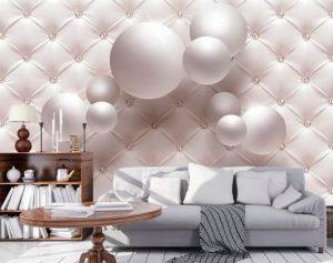 3D Wallpaper 3D Wall Sticker Vinyl stickers wall decor White Cubes
