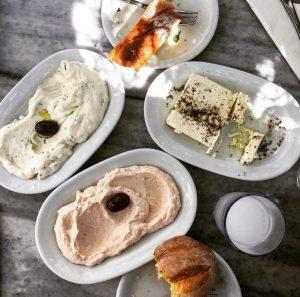 Dinner in Little Venice, Mykonos