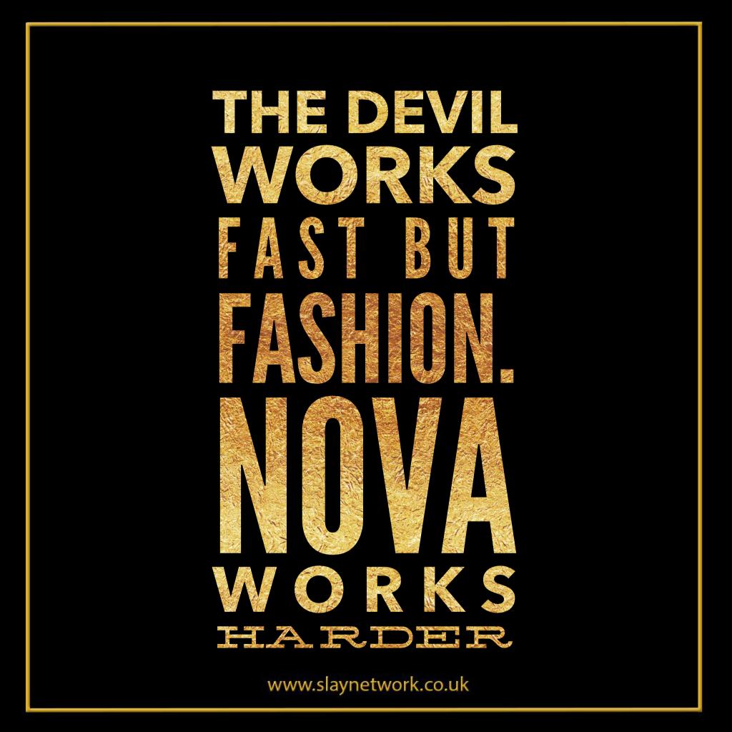 3d4983cecdd4 The devil works fast but Fashion Nova works harder