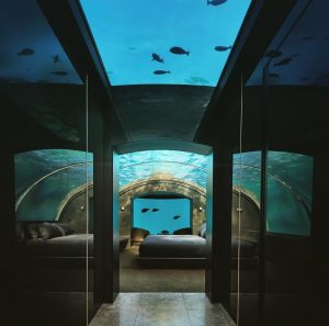 Conrad Maldives Rangali Island underwater suite