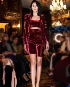 Red Luxury couture for women
