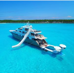 Luxury yacht for charter