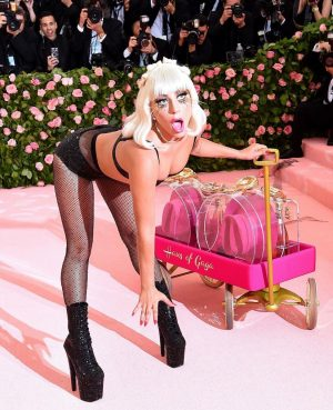 This years MET GALA theme was without doubt right up Lady Gaga's alley