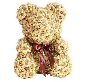 Gold Preserved teddy rose