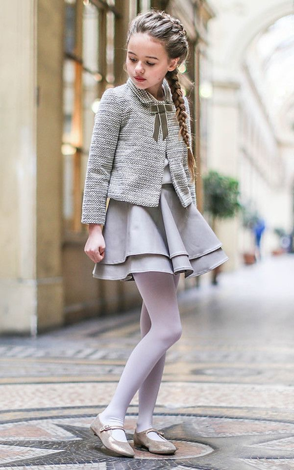 Chic girls couture fashion