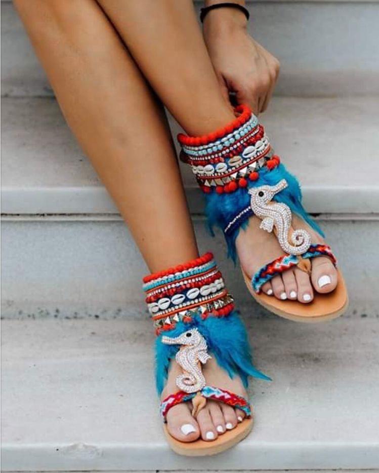 Mystical sandals