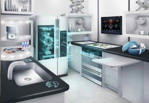 The high tech kitchens of the future