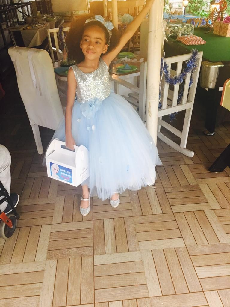 The best look for a frozen theme party