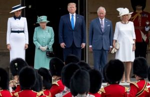 This is how Donald Trump chose to begin his visit to the United  Kingdom