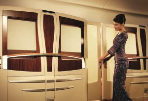 Singapore Airlines takes things to the next level with its first class suite