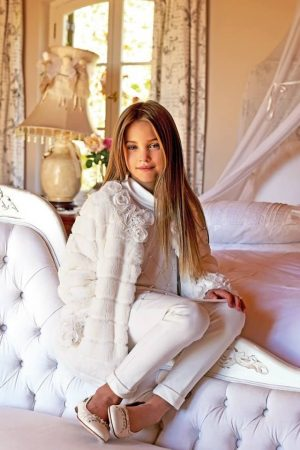 Exquisite couture for kids