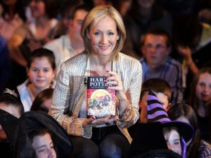 How old was JK Rowling when she made it?