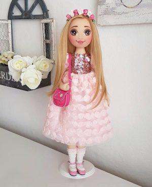 Luxury fashion doll
