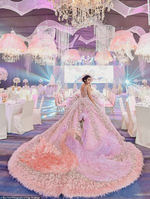 Inside teen's dream $41,000 18th birthday party – complete with two spectacular gowns