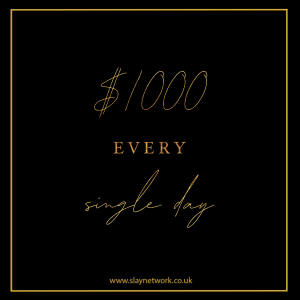 How to earn at least  $1000 a day online