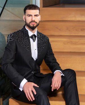 Embellished Suit for men