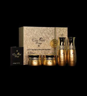 24k Gold & Caviar Daily Rejuvenating Skin Treatment Gift Set