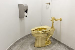 The 18 carat Gold Toilet hits Britain- meet the artist behind it