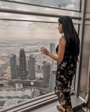 Views from the Burj Khalifa