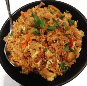 Why do the chinese not gain weight when they eat a lot of rice