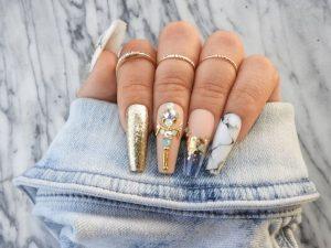 Millionaire Press on Nails
