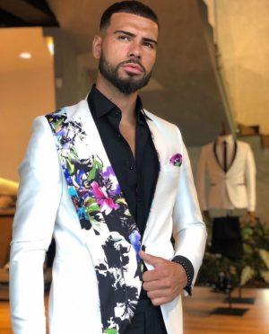 Fancy Floral Suit for Men