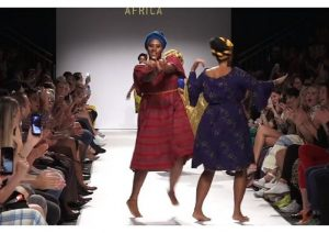 The coolest themed African Fashion Show
