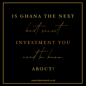 Looks like Ghana is the next best place for investment