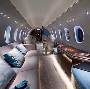 Billionaire Private Jet Interiors