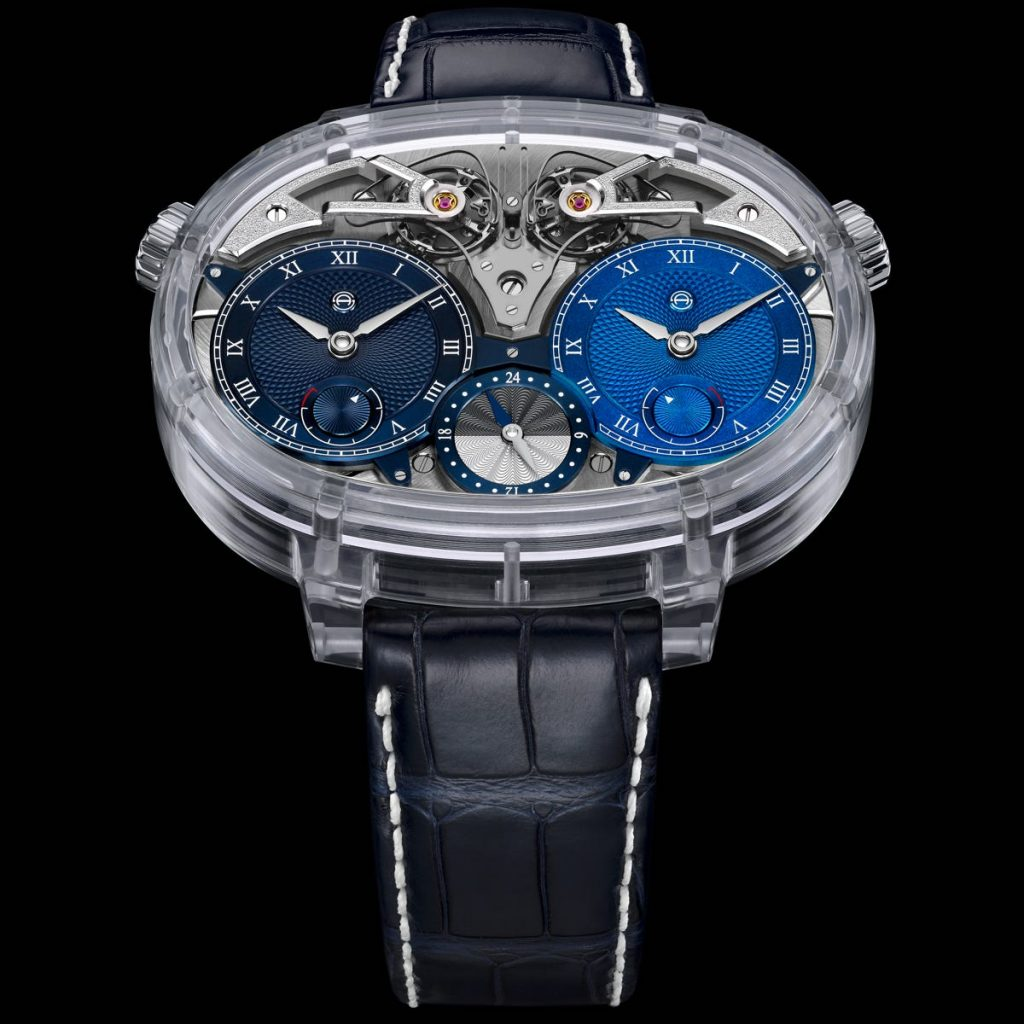 Armin Strom Dual Time Resonance Sapphire watch