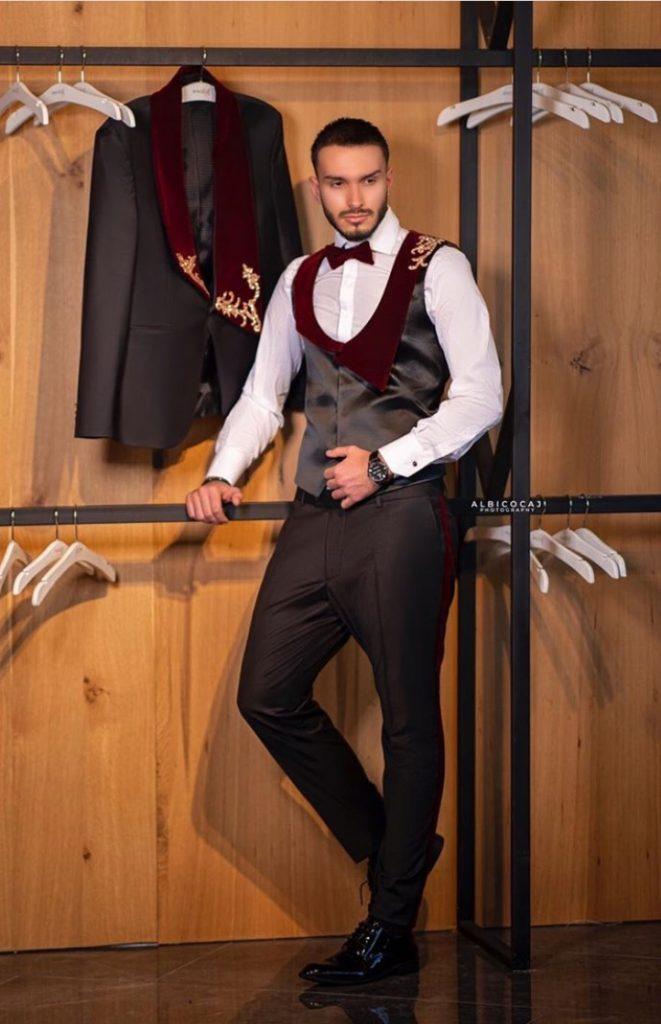 Opulent couture suit for Men