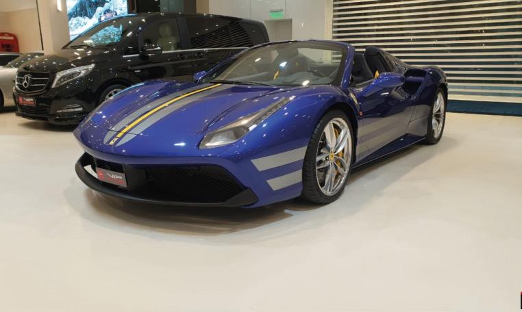 Tailor Made Ferrari 488 spider 2018 for Sale 