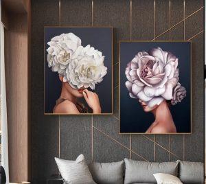 Luxe Flower Art Print