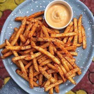 Peri Peri Fries with Mayonnaise