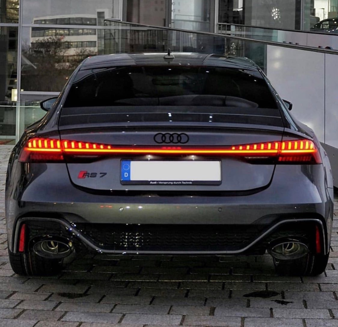 2019 Audi RS7 Taillights