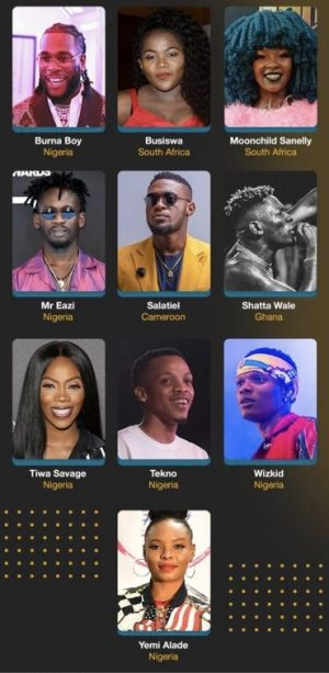 How African Slaylebrity Music Artists are changing the perception of Africa