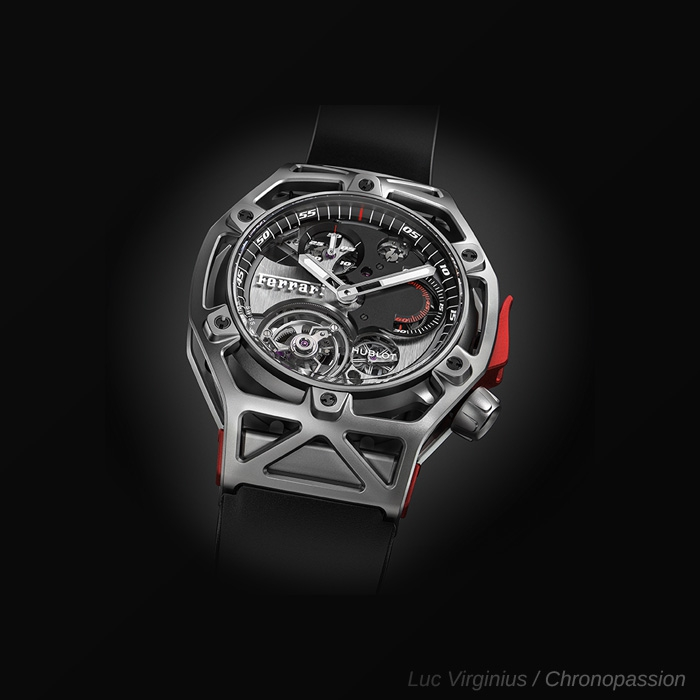 HUBLOT TECHFRAME FERRARI TITANIUM 408.NI.0123.RX WATCH