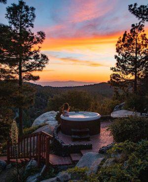 The dome in idyllwild California
