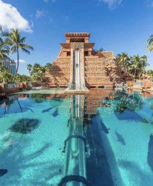 Worlds coolest hotel water slides