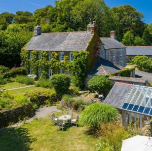 Ennys, Cornwall Georgian Country House FOR SALE