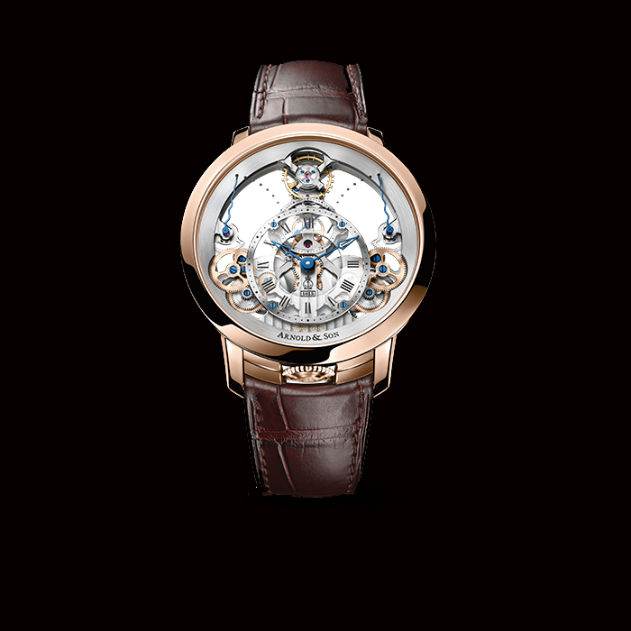 ARNOLD & SON, TIME PYRAMID ROSE GOLD, 1TPAR.S01A.C125A WATCH