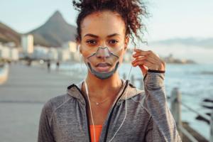 Worlds first transparent medical face mask