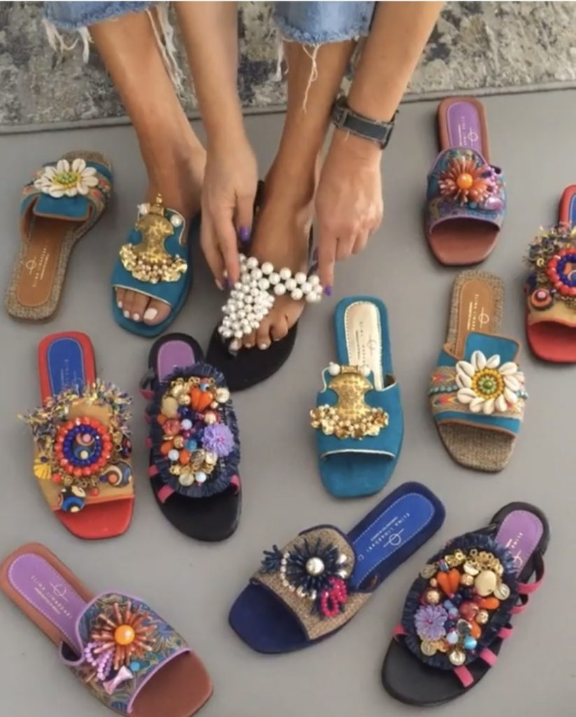 Seven Luxury custom made sandals for her