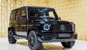Black Mercedes-Benz G 63 AMG EDITION 1 FOR SALE