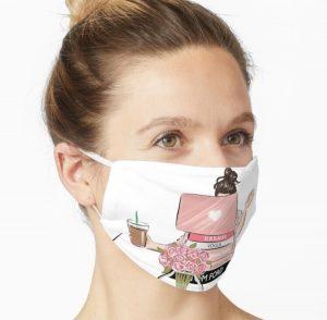 Unique 8 set Artsy Face Mask